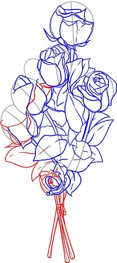 kak-narisovat-mamu-75 Стенгазета на День матери своими руками с картинками и фотографиями: Шаблоны для распечатки плаката ко Дню матери в школе и детском саду