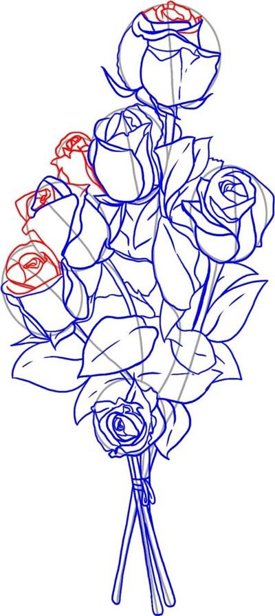 kak-narisovat-mamu-76 Стенгазета на День матери своими руками с картинками и фотографиями: Шаблоны для распечатки плаката ко Дню матери в школе и детском саду