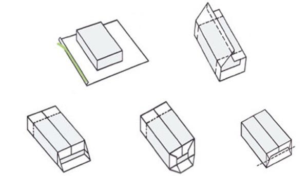kak-upakovat-podarok-v-podarochnuyu-bumagu-7 Как упаковать подарок в подарочную бумагу красиво и необычно: мастер-классы