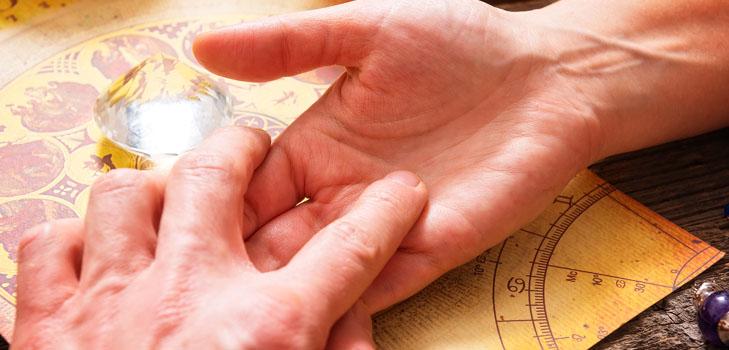 Знак вдовства на руке