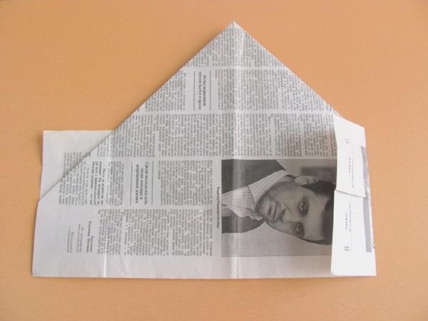 pilotka-iz-bumagi-svoimi-rukami-10 Как сделать пилотку 🤡 из бумаги своими руками