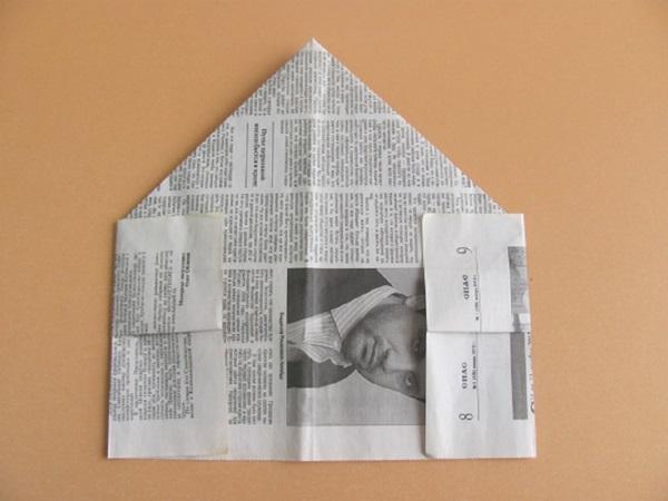 pilotka-iz-bumagi-svoimi-rukami-11 Как сделать пилотку 🤡 из бумаги своими руками