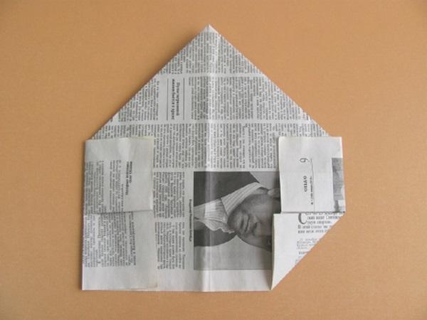 pilotka-iz-bumagi-svoimi-rukami-12 Как сделать пилотку 🤡 из бумаги своими руками