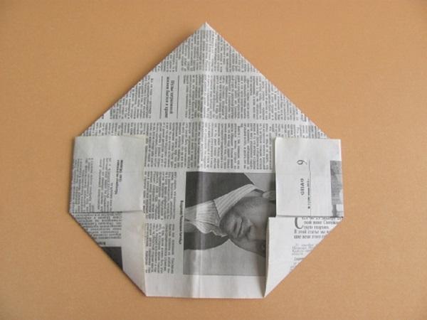 pilotka-iz-bumagi-svoimi-rukami-13 Как сделать пилотку 🤡 из бумаги своими руками