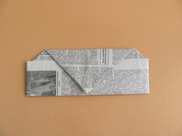 pilotka-iz-bumagi-svoimi-rukami-16 Как сделать пилотку 🤡 из бумаги своими руками