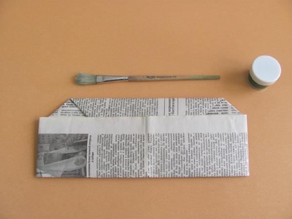 pilotka-iz-bumagi-svoimi-rukami-17 Как сделать пилотку 🤡 из бумаги своими руками