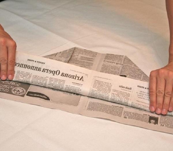 pilotka-iz-bumagi-svoimi-rukami-24 Как сделать пилотку 🤡 из бумаги своими руками