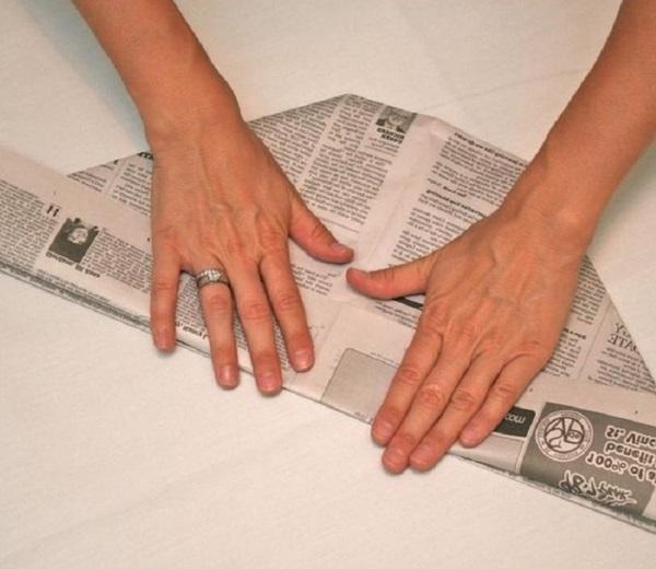 pilotka-iz-bumagi-svoimi-rukami-25 Как сделать пилотку 🤡 из бумаги своими руками