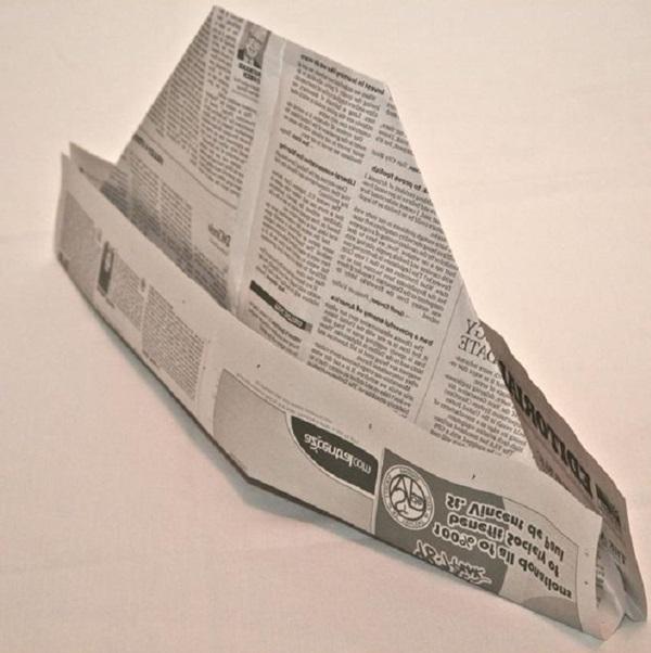 pilotka-iz-bumagi-svoimi-rukami-27 Как сделать пилотку 🤡 из бумаги своими руками