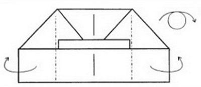 pilotka-iz-bumagi-svoimi-rukami-33 Как сделать пилотку 🤡 из бумаги своими руками