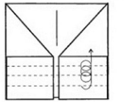 pilotka-iz-bumagi-svoimi-rukami-34 Как сделать пилотку 🤡 из бумаги своими руками
