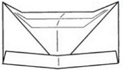 pilotka-iz-bumagi-svoimi-rukami-36 Как сделать пилотку 🤡 из бумаги своими руками