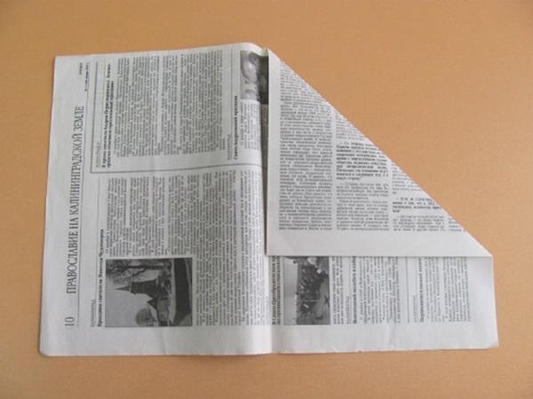 pilotka-iz-bumagi-svoimi-rukami-6 Как сделать пилотку 🤡 из бумаги своими руками