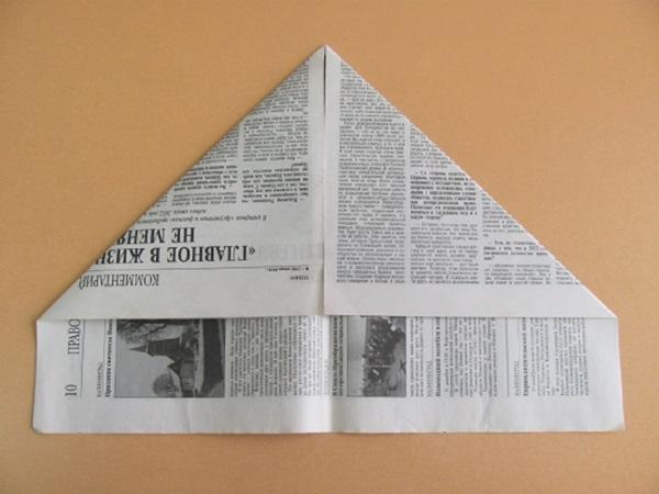pilotka-iz-bumagi-svoimi-rukami-7 Как сделать пилотку 🤡 из бумаги своими руками