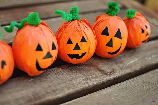 Поделки из пластилина картинки связанные с хэллоуином, годом рождеством