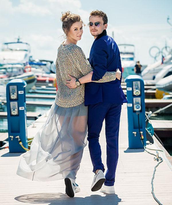 Александр петров актер и его девушка дарья емельянова