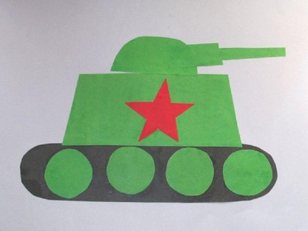 Смешные картинки, открытка к 23 февраля для детей 3-4 лет в детском саду
