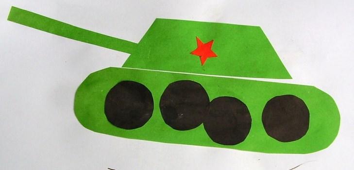 Где, открытка танк на 23 февраля 2 класс