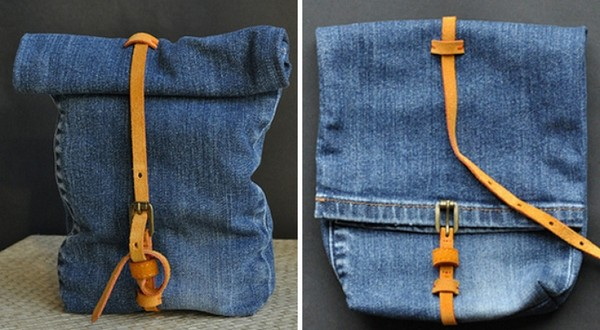 Шьем джинсовый рюкзак своими руками – фото и выкройки
