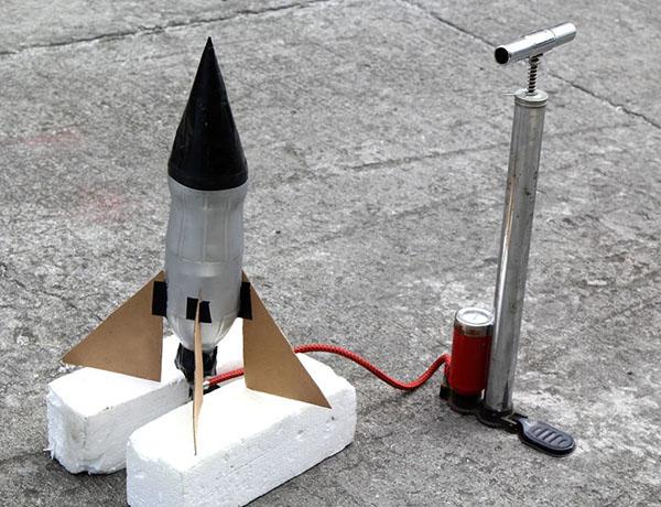 Как сделать простую ракету 670