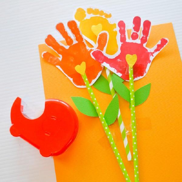 Открытка с днем рождения руками детей из бумаги для детей видео