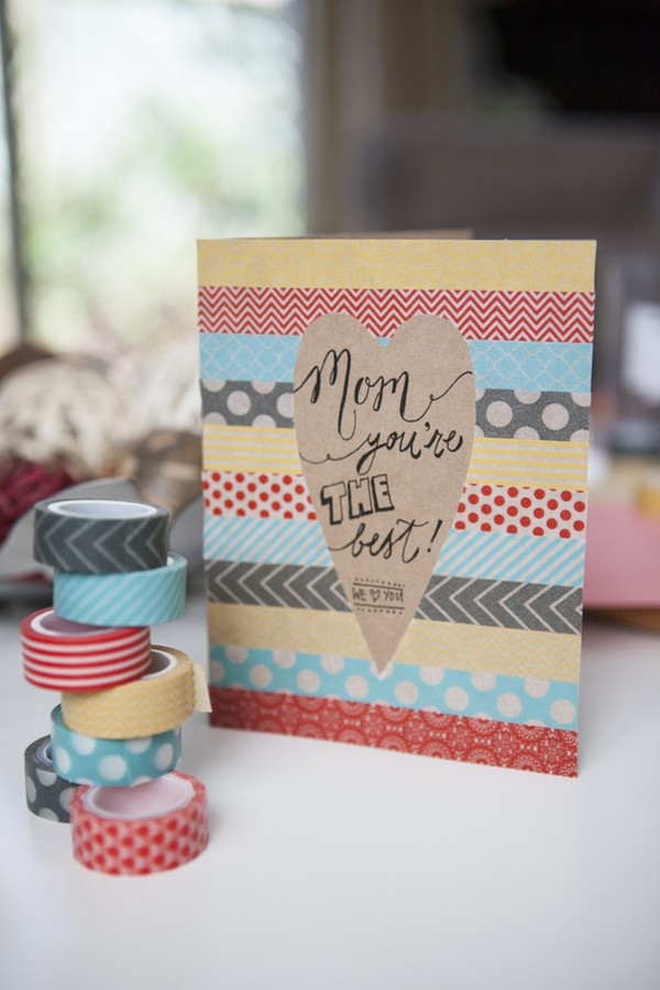 Идеи открытки ко дню матери своими руками