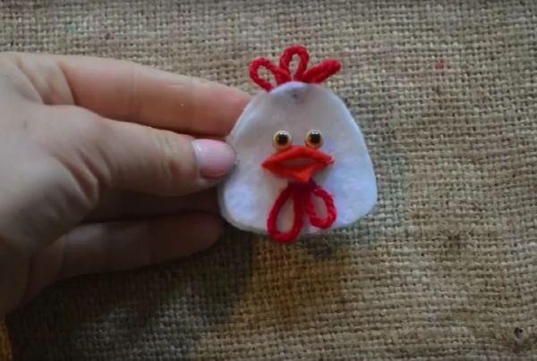 petuh-svoimi-rukami-24 Год Петуха поделки своими руками из ткани, бумаги, сшить символ года
