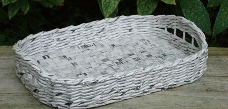 pletenie-iz-gazetnyh-trubochek-dlya-nachinayushih Плетение из газетных трубочек для начинающих пошагово: техника плетения, мастер класс, фото. Плетение корзин, шкатулок, коробок из газет для начинающих: схемы, загибы, фото