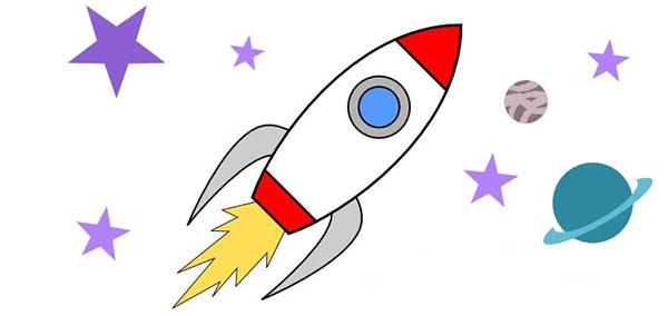 красивые рисунки про космос и космонавтов