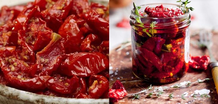 как быстро сделать вяленые помидоры