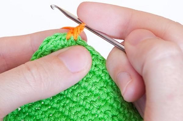вязание крючком рачий шаг техника выполнения рачий шаг для
