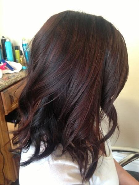 Шатуш на темные волосы в домашних условиях, фото- и видео-уроки