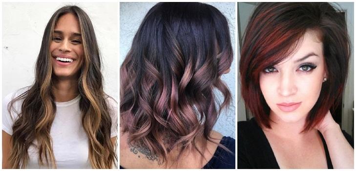 """Шатуш на темные волосы: фото """"До"""" и """"После"""""""