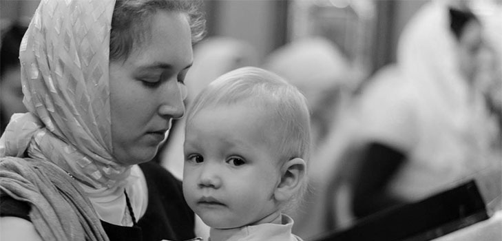 Молитва к пресвятой богородице за дитя