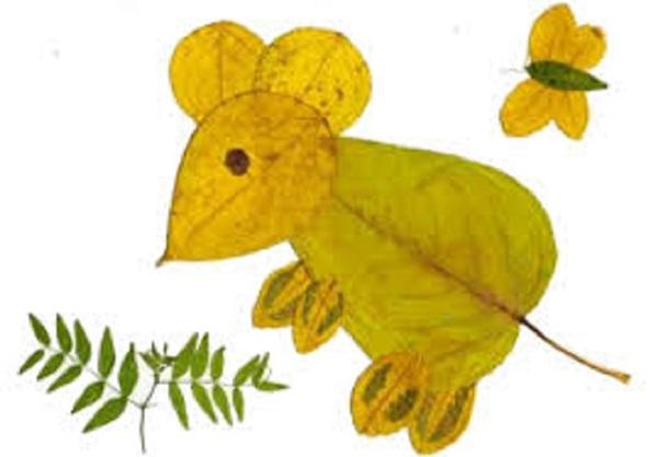 kartinki-iz-listev-1 Картины из листьев и цветов своими руками для детского сада и школы