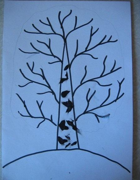 kartinki-iz-listev-osen-3 Картины из листьев и цветов своими руками для детского сада и школы