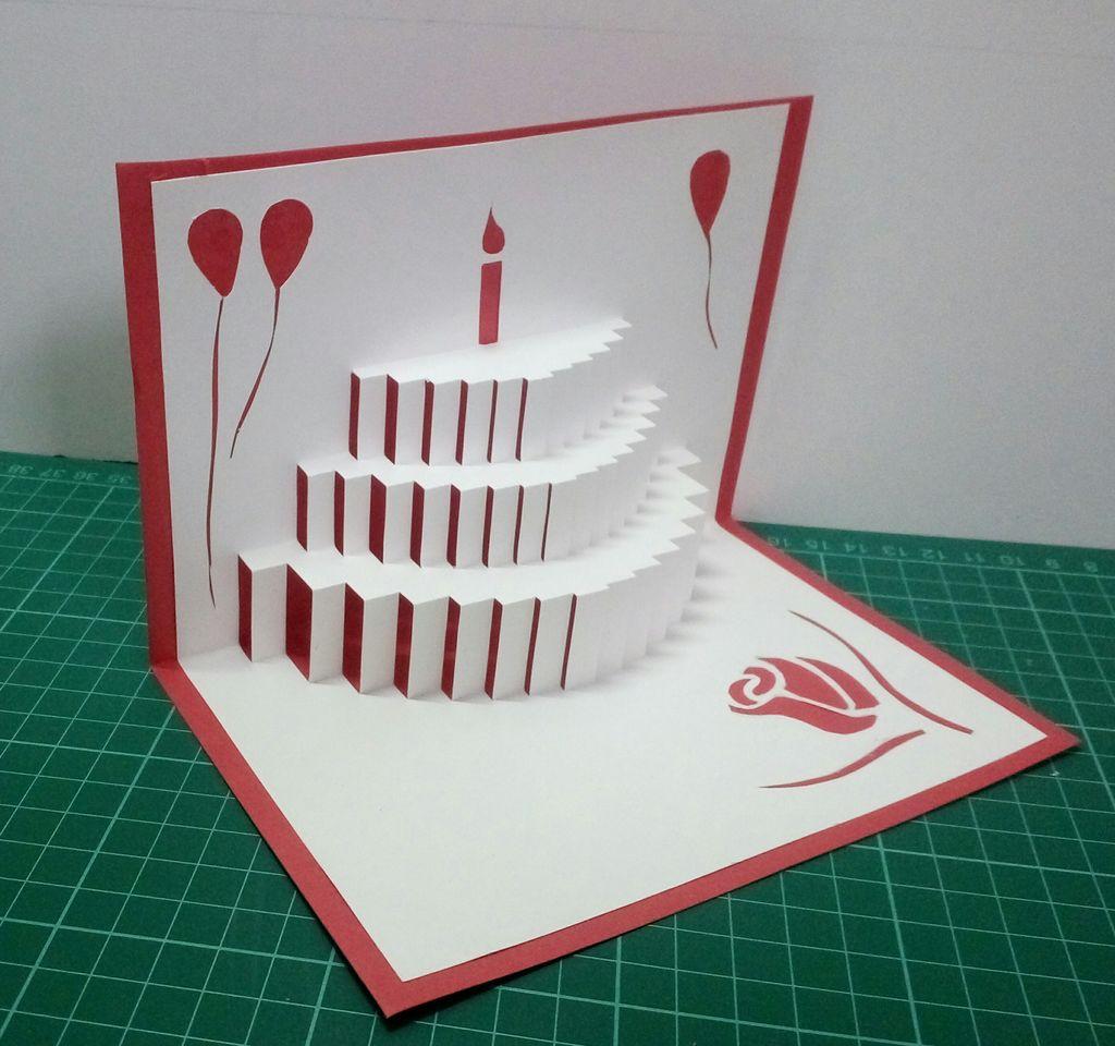 Приколы, как сделать объемные открытки своими руками с инструкцией