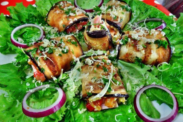рецепты закуска баклажаны