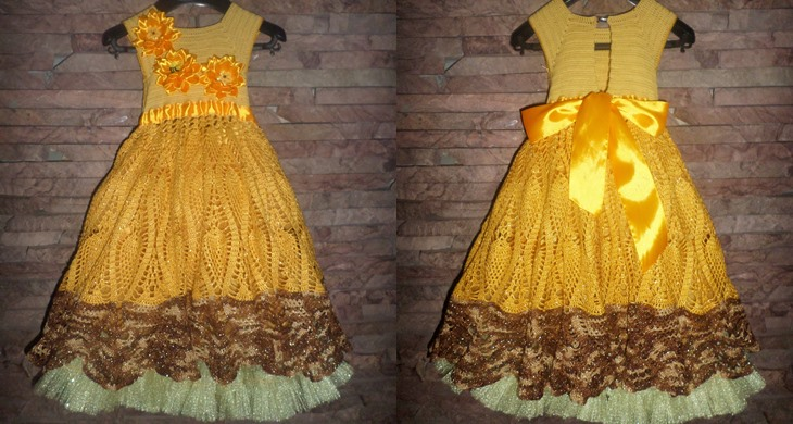 Платье своими руками девочки крючок фото 562