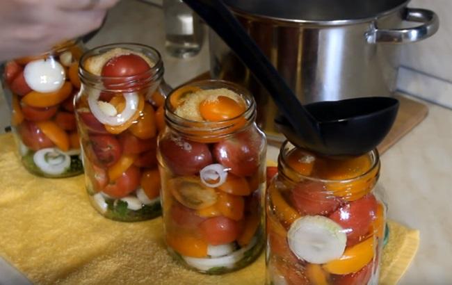 Помидоры в желатине на зиму: рецепты пальчики оближешь (с пошаговыми фото)