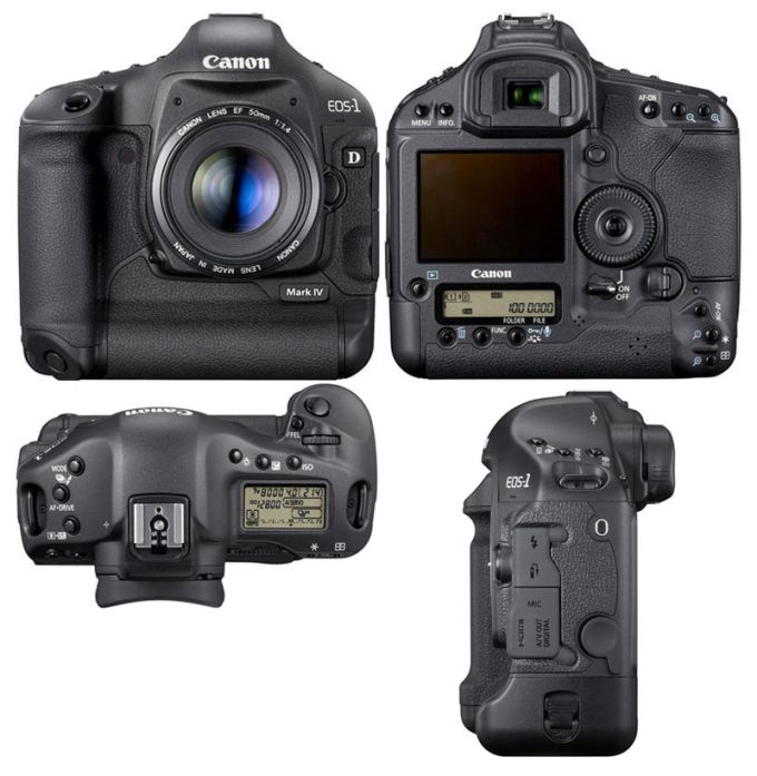 EOS 1D Mark IV