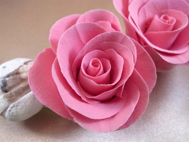картинки розы из глины уши ушастик