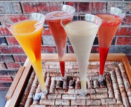 Малиновый коктейль с шампанским, пошаговый рецепт с фото