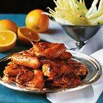 Цыплята с апельсинами и клюквой, пошаговый рецепт с фото
