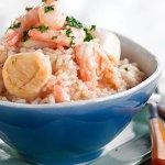 Ризотто с креветками – кулинарный рецепт