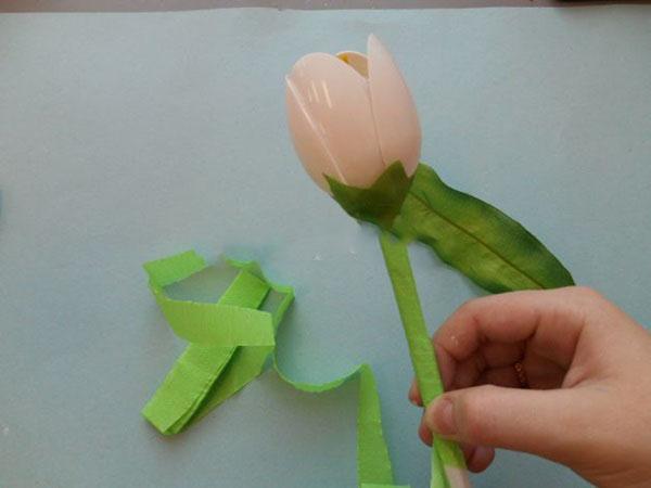 tyulpany-svoimi-rukami-143 Тюльпаны своими руками. Тюльпан из бумаги своими руками