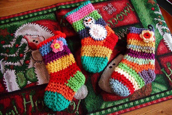 новогоднее вязание крючком схемы и фото уроки для начинающих